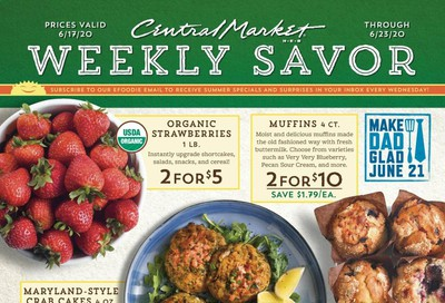 Central Market Weekly Ad & Flyer June 17 to 23