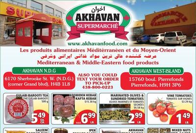 Akhavan Supermarche Flyer June 17 to 23
