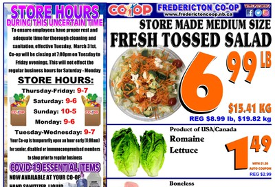 Fredericton Co-op Flyer June 18 to 24