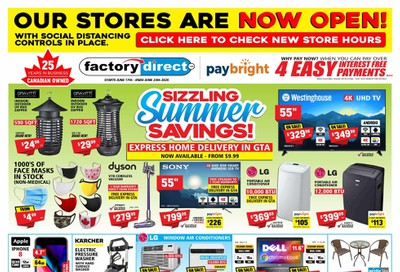 Factory Direct Flyer June 17 to 24