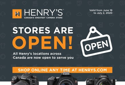 Henry's Flyer June 19 to July 2