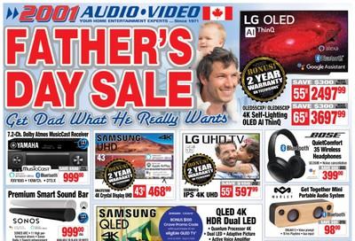 2001 Audio Video Flyer June 19 to 25