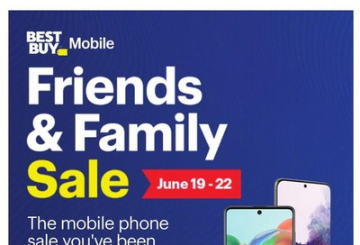 Best Buy Mobile Flyer June 19 to 22