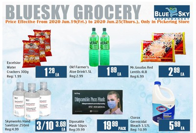Blue Sky Supermarket (Pickering) Flyer June 19 to 25