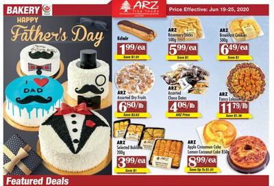 Arz Fine Foods Flyer June 19 to 25