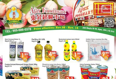 Ajax Foodmart Flyer November 8 to 14