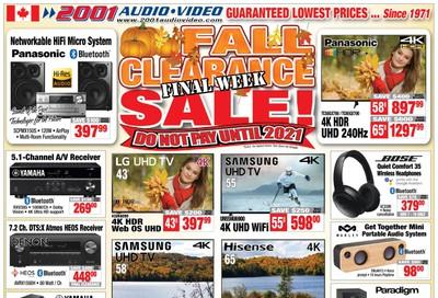 2001 Audio Video Flyer November 8 to 14