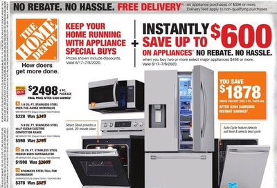 The Home Depot Weekly Ad & Flyer June 21 to 24