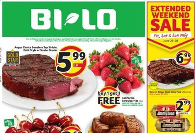 BI-LO Weekly Ad & Flyer June 24 to 30