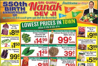 Fruiticana (BC) Flyer November 8 to 13
