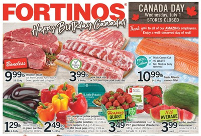 Fortinos Flyer June 25 to July 1