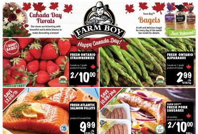 Farm Boy (Brantford, Burlington, Cambridge, Hamilton, Kitchener, London, Oakville, Pickering, St. Catharines, Toronto and Whitby) Flyer June 25 to July 1