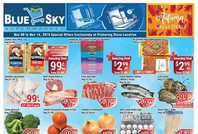 Blue Sky Supermarket (Pickering) Flyer November 8 to 14