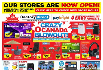 Factory Direct Flyer June 24 to July 1