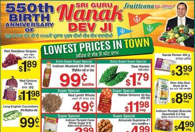 Fruiticana (Calgary) Flyer November 8 to 13