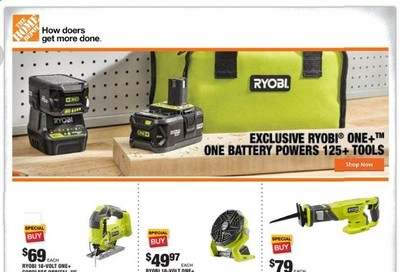 The Home Depot Weekly Ad & Flyer June 22 to 25