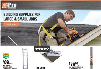 The Home Depot (Shop Pro) Weekly Ad & Flyer June 22 to 29