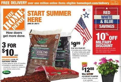 The Home Depot (START SUMMER HERE) Weekly Ad & Flyer June 25 to July 5