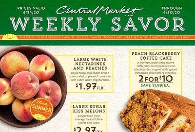 Central Market Weekly Ad & Flyer June 24 to 30