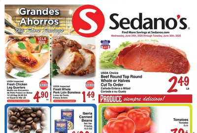 Sedano's Weekly Ad & Flyer June 24 to 30