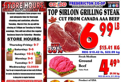 Fredericton Co-op Flyer June 25 to July 1