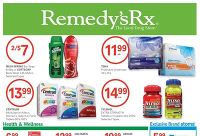 Remedy's RX Flyer June 26 to July 30