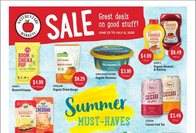 Nature's Fare Markets Flyer June 25 to July 8