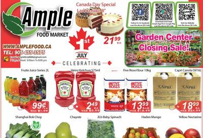 Ample Food Market Flyer June 26 to July 2