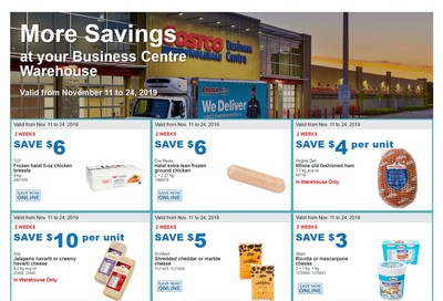 Costco Business Centre (Scarborough, ON) Instant Savings Flyer November 11 to 24