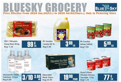 Blue Sky Supermarket (Pickering) Flyer June 26 to July 2