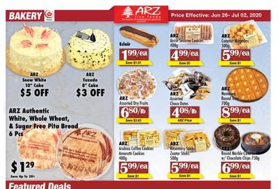 Arz Fine Foods Flyer June 26 to July 2