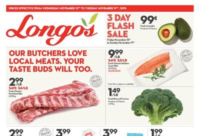 Longo's Flyer November 13 to 19