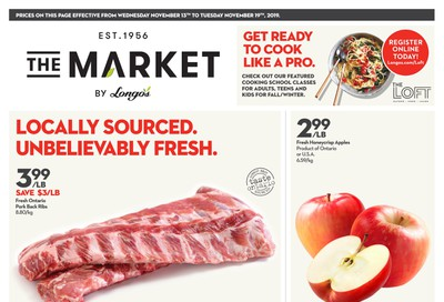 The Market by Longo's Flyer November 13 to 19