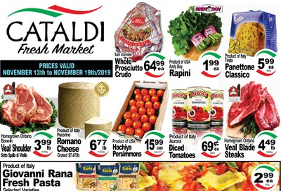 Cataldi Fresh Market Flyer November 13 to 19