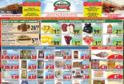 Akhavan Supermarche Flyer November 13 to 19