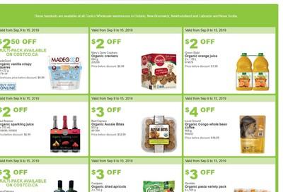 Costco (ON & Atlantic Canada) Weekly Savings September 9 to 15