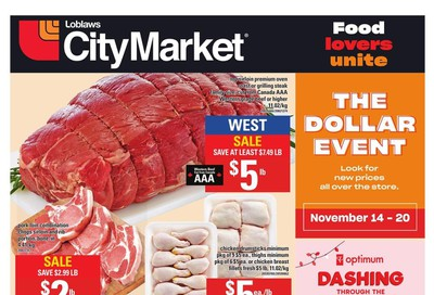 Loblaws City Market (West) Flyer November 14 to 20