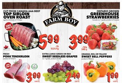 Farm Boy (Cornwall, Kingston, London, Oakville, Ottawa, Pickering, Toronto and Whitby) Flyer November 14 to 20