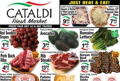 Cataldi Fresh Market Flyer July 1 to 7