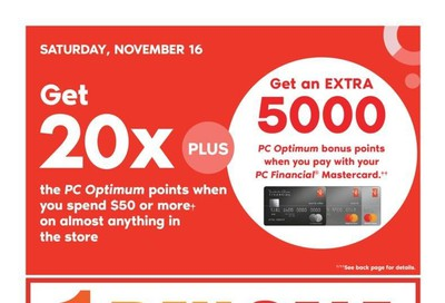 Shoppers Drug Mart (West) Flyer November 16 to 22