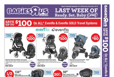 Babies R Us Flyer November 14 to 20