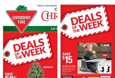 Canadian Tire (West) Flyer November 15 to 21