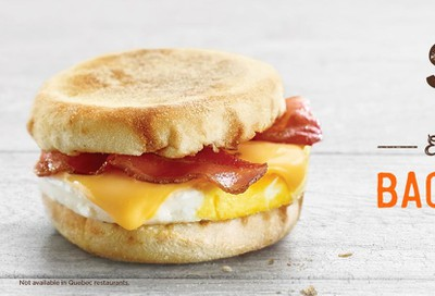 A&W Canada Offers: Egger Breakfast Sandwich for $2.50! November 12 - December 1