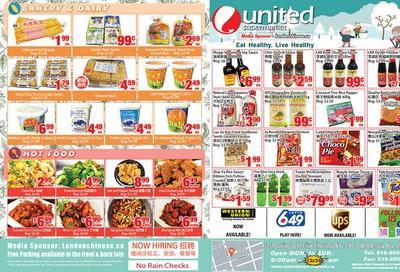 United Supermarket Flyer November 14 to 20