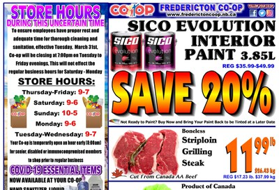 Fredericton Co-op Flyer July 2 to 8
