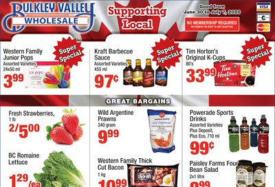 Bulkley Valley Wholesale Flyer June 30 to July 7