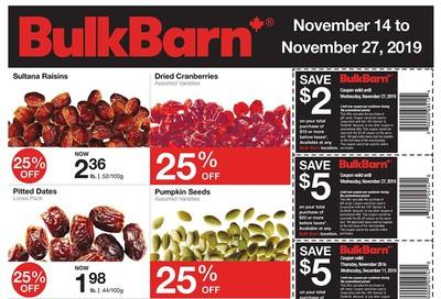 Bulk Barn Flyer November 14 to 27