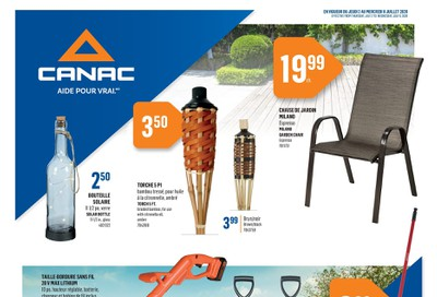 Canac Flyer July 2 to 8