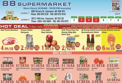 88 Supermarket Flyer July 2 to 8