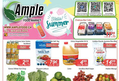 Ample Food Market Flyer July 3 to 9